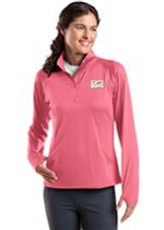 Sport-Wick Stretch 1/2 Zip Pullover - Pink