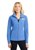 ATF Ladies Heather Microfleece Full-Zip Jacket