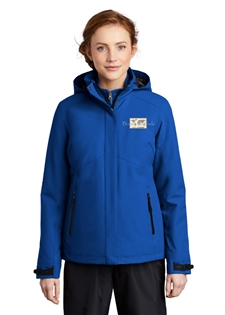 Ladies Insulated Waterproof Tech Jacket