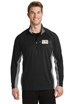 Sport-Wick® Stretch Contrast 1/2-Zip Pullover