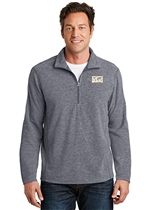 Heather Microfleece 1/2-Zip Pullover