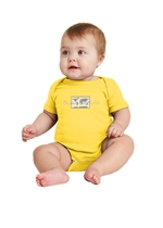 "Rabbit Skinsâ""¢ Infant Short Sleeve Baby Rib Bodysuit"