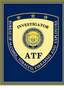 ATF Investigator Badge Throw