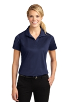 Ladies Micropique Sport-Wick® Polo w/USMS Seal in Navy, L