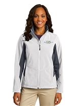 USMS Ladies Core Colorblock Soft Shell Jacket