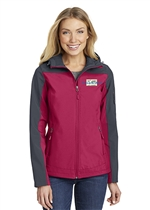 USMS Ladies Hooded Core Soft Shell Jacket