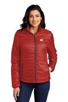 USMS Ladies Packable Puffy Jacket