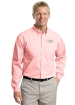Easy Care Woven Shirt - Pink