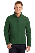 Core Soft Shell Jacket w/USMS Seal in Dk Green, Large