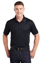 Micropique Sport-Wick® Polo w/USMS Seal in Black, XL