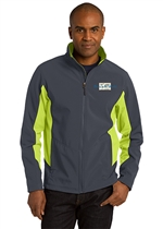 USMS Core Colorblock Soft Shell Jacket