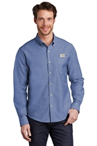 USMS Untucked Fit SuperPro Oxford Shirt