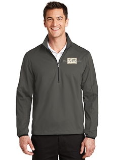 Active 1/2-Zip Soft Shell Jacket