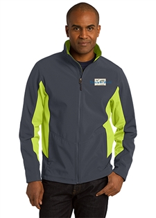 ATF Core Colorblock Soft Shell Jacket